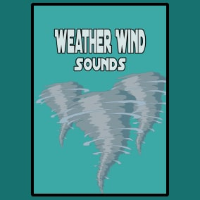 Weather Wind Sounds contains 50 tracks: 42 seamless loops and 8 tracks.