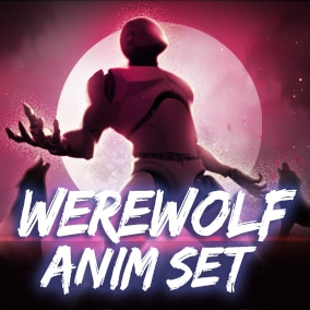 Werewolf AnimSet + 36animations