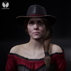 Western Female NPC's are part of our Western collection.