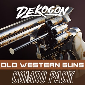 A collection of western guns that can be used for games!