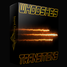 400 cutting edge whooshes, swooshes, transitions, fly-by and pass-by sound effects for spaceships, sci-fi vehicles and transitions between scenes and events!