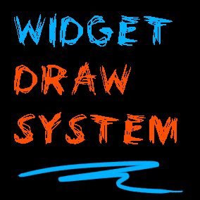 Complete drawing system in UE4