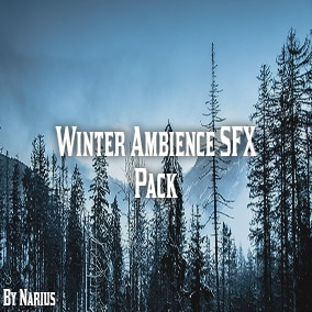 This pack contains 100 high quality winter ambience sound effects.