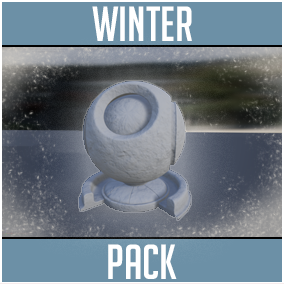 Hi Res Winter_Themed Customizable Materials