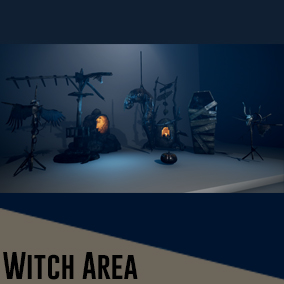 Witch Area 8 Props