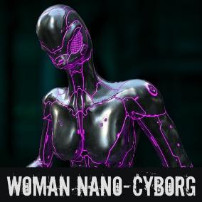 HQ Woman Nano-Cyborg