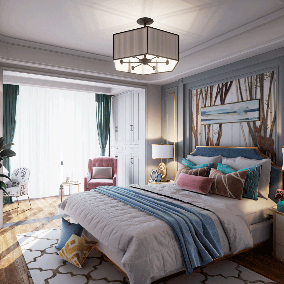The name of this architectural visualization project is Wonderful Dream