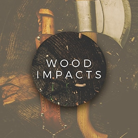 Wood Impacts sound effects library