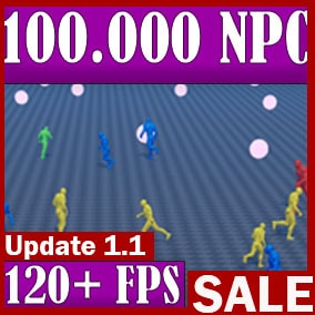 The World Director NPC plugin is ideal for creating games where there are many pawns in the world at the same time. You can simulate a whole world of thousands of pawns. You can create an entire populated city. The plugin is easy to use.
