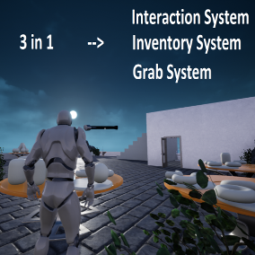 A core component for any game requiring interaction - With an authoritative inventory system.