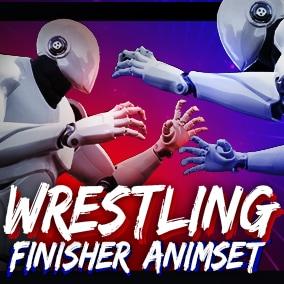 Wrestling Finisher Animset + 31 anims