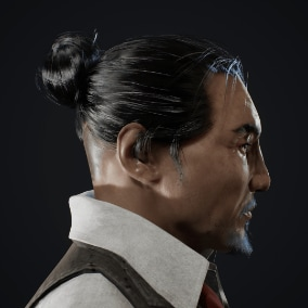 A high quality Yakuza Criminal character suitable for Asian settings in your project