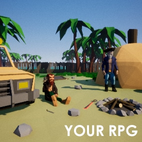 Your RPG is the most realistic and multiplayer optimized project that you can find!