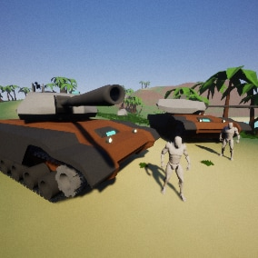 Your TANKS is the most realistic and multiplayer optimized project that you can find!