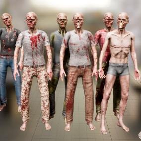 Zombie_02 modular