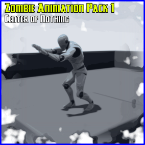 Standard Standing Zombie Animations for the Unreal Epic Skeleton!