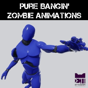 Zombie Animations and Modular Interactions