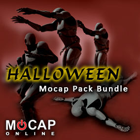 3 Pack COMBO:  Zombie PRO/Scared/Deaths - Mocap Animation Pack Bundle