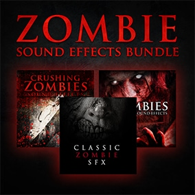 Zombie Sound Effects Bundle is the ultimate living dead collection with more than 650 premium sounds.