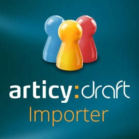 Import and use your content created with articy:draft 3