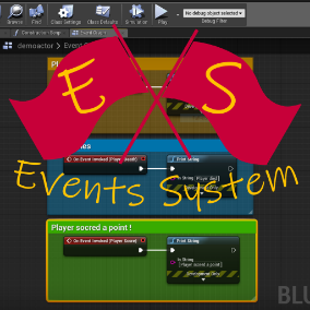 Simplify your Blueprints! Events driven system for better flow control inside C++ and BP Classes. Eliminates unnecessary casting and clean approaches.