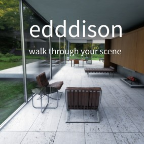 edddison makes it easy to walk through a building, see a space from any perspective and discuss design decisions.