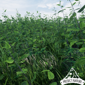 This game ready ground foliage is all you need to create a realistic, dynamic moving and natural looking grassland environment.