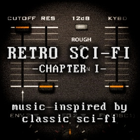 Music for sci-fi games. Expertly crafted with virtual analog synthesizers and vintage drum samples.